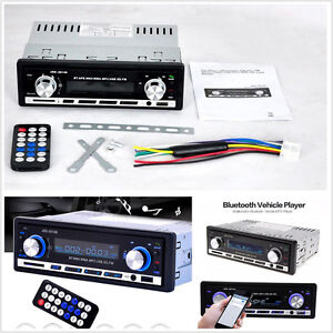 Vehicles Stereo Radio Bluetooth V2.0 MP3 Player FM/USB/SD/AUX Handfree Head Unit