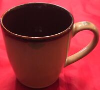 Sango NOVA BROWN 4933 Coffee Mugs Lot of 6 EUC