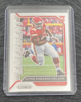 Clyde Edwards-Helaire 2020 Panini Prizm Emergent #3 KC Chiefs Rookie Card