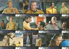 Star Trek 40th Anniversary Full 90 Card Base Set of Trading Cards ~ New