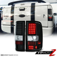 "2004-2008 Ford F150 Lobo ""MURDER OUT"" Black Red LED SMD Rear Brake Tail Lights"