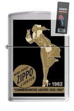 Zippo 200 Windy Varga Wind-Proof RARE Lighter + FLINT PACK