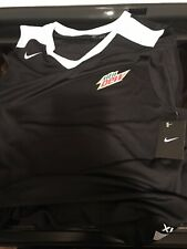Brand New Nike Dri-fit Xl Swoosh Mountain Dew Basket Ball Shirt