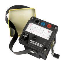 Aemc 6503 212652 Hand Cranked Megohmmeter 1000v Max Test Voltage