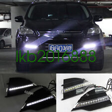 Super Bright LED Daytime Running Lights DRL fit for Ford Kuga 2013-2014 13 14
