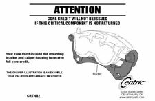 Centric Parts 142.42145 Front Right Rebuilt Brake Caliper With Pad