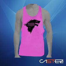Camiseta tirantes gym gimnasio juego de tronos stark lobo (ENVIO 24/48h) unisex
