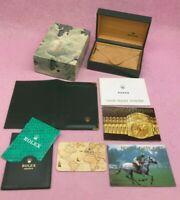 GENUINE ROLEX DATEJUST VINTAGE Watch box case Booklet Calendar 68.00.2 B4567