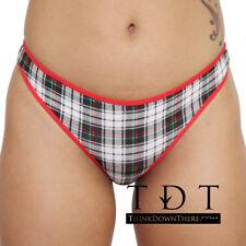 Rene Rofe Cotton Spandex Thong - 12206-H942 Panty Panties Underwear