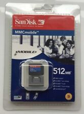 Genuine Sandisk RS MMC MultiMedia Memory Card 512MB  Vintage Rare New