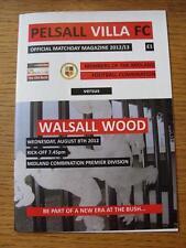 08/08/2012 pelsall Villa V Walsall legno (oggetto non ha difetti apparenti).