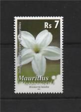 Mauritius 2010 7r Flowers Reprint 1v Set MNH