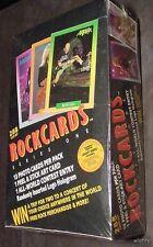 WHOLESALE LOT ROCKCARDS BOX ROCK MUSIC CARDS AC/DC KISS GRATEFUL DEAD TRADING