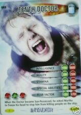 DR WHO INVADER CARD 448 TENTH DOCTOR (FROZEN)