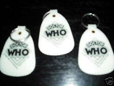 DOCTOR WHO lot of 3 vintage key rings