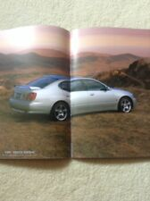 Lexus GS JDM Japanese RARE Sales Brochure GS300 GS400