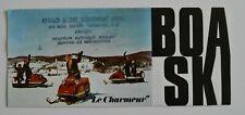 BOA-SKI Snowmobiles Full Line 1971 dealer brochure catalog - French - Canada
