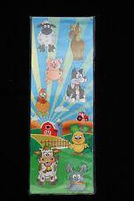 10 x  Comic Farm Animal Soft Fridge Magnets