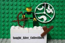 Lego Classic Castle Forestmen Robin Hood VINTAGE minifigure archer woodsman