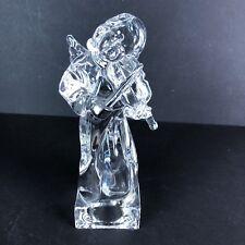 Mikasa Herald Collection Angel Violin Crystal Made Germany 8 1/2 Tall Christian