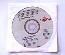 Reinstallation DVD Microsoft Windows 7 Pro 32Bit Fujitsu integrierter Key