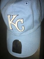 MLB Kansas City KC Royals 47 Brand Adjustable Strapback Blue Baseball Hat NWT