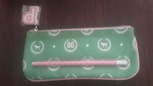 Victoria's Secret PINK 86 Rare Green Bag Pen & Eraser Collectors HTF!!