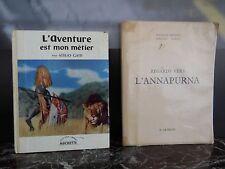 L'aventure est mon métier 1961 Regard vers l'Annapurna 1951 ARTBOOK by PN