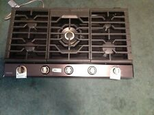"""Samsung Na36K7752Tg 36"""" Black Stainless 5 - Burner Gas Cooktop w/griddle"""