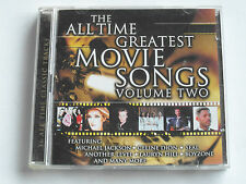 The All Time Greatest Movie Songs - Volume Two (2 CD Album) Used Good