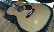 Rare 2002 USA Martin OM Custom Shop Acoustic Guitar (Excellent Condition)