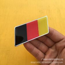 2pcs Germany Deutschland Flag Expoy Resin Rear Emblem Badge Sticker Decal A4 A6