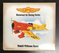 First Gear Shell Air Racing Wedell Williams Racer Diecast Metal Airplane 79-0175