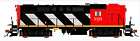 RAPIDO 1/87 HO CN CANADIAN NATIONAL MLW RS-18 RD. #3102 DC / SILENT 32016 F/S