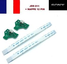 Connecteur de charge usb manette PS4 + nappe interne DOCK V3 JDS-011 lot de 2