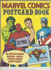 MARVEL POSTCARD BOOK VF/NM