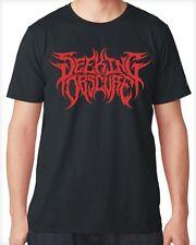SEEKING OBSCURE Thrash Death Metal Logo Shirt + CD Banished Suffocation Lg XL !