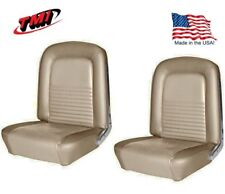 1967 Mustang Front & Rear Seat Upholstery- Parchment by TMI - IN STOCK!!