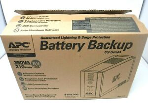 APC Battery Backup CS Series 350VA, 210W *BRAND NEW*