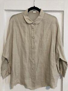 acne shirt joy linen silk size 42 great condition!