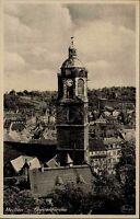 Meißen Sachsen Ansichtskarte 1943 datiert Blick auf die Frauenkirche Teilansicht