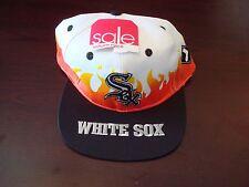 CHICAGO WHITE SOX ANNCO  SPLASH BIG LOGO SCRIPT VINTAGE 90'S HAT CAP  SNAPBACK