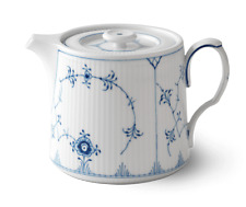 Royal Copenhagen Blue Fluted Plain Tea Pot