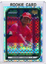 #d/250~REF~RC~JOHNNY CUETO 2008 Bowman Chrome X-Fractor ROOKIE CARD~08~SFG~JOHNY