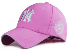 Pink Unisex Men Women Baseball Snapback Cap Hip-Hop NY Sport Cap Hat FREE SHIP