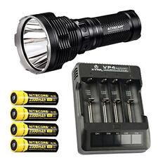 Acebeam K70 Flashlight XHP35 HI LED w/Xtar VP4 Charger & 4x NL183 Batteries