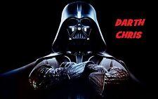 Darth Vader Peronalized  iron on transfer  5x8