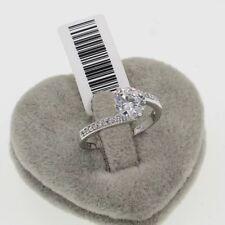 Wedding Engagement Genuine White Gold 1.25 ct Engagement Eternity Ring size 8
