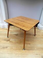 Vintage RETRO Side LAMP Coffee TABLE Minimalistic SPLAYED Legs QZZQ Adelaide