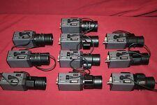 Lot of 10 Ganz/Digital YC-100 W/ Fujinon YV5x2.7R4B-SA2L 1:1.3/2.7-13.5mm-SHOWN